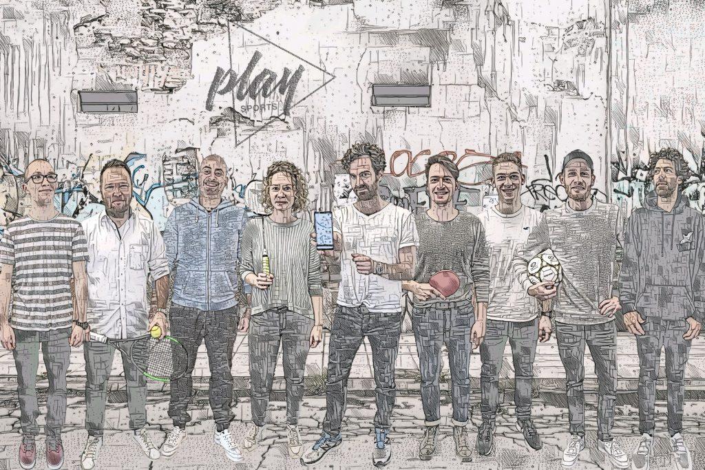 Das Team von PLAYSPORTS