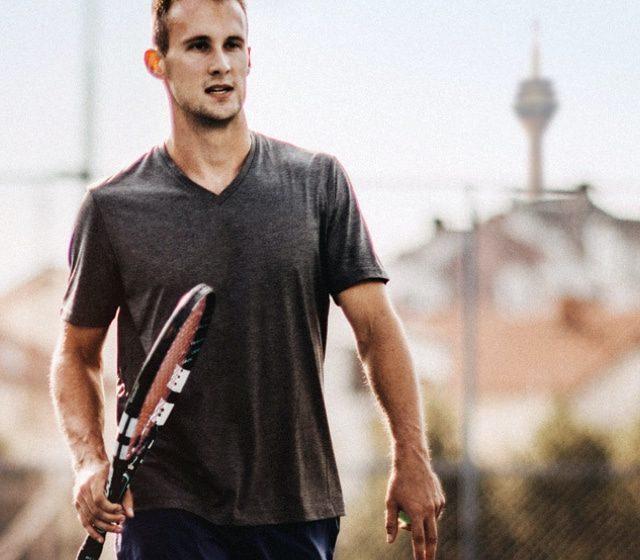 Tennisspieler in Düsseldorf