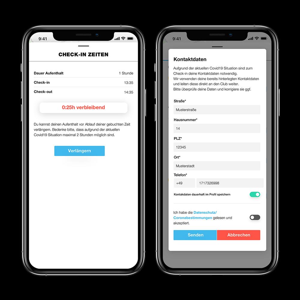 Die App von PLAYSPORTS - Das Tennis Buchungssystem