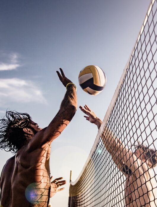 Beachvolleyball-home