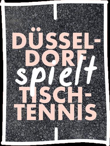Düsseldorf spielt Tischtennis