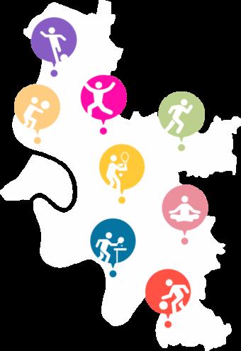 Karte_Düsseldorf-Sportangebote
